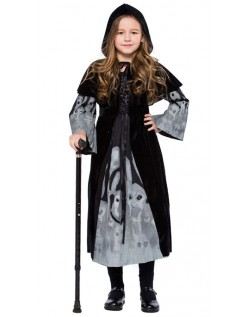 Barn Misfarget Halloween Vampyr Heks Spøkelse Kostyme