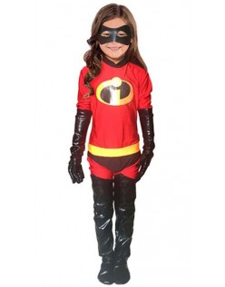 Incredibles 2 Jenter Incredible Kostyme Lycra Morphsuit Barn