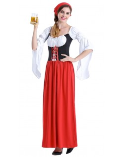 Savner Swiss Tyroler Kostyme Oktoberfestkjole