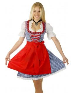 Sexy Klassiske Oktoberfest Kostyme Dame Blå
