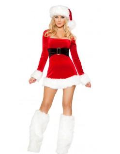 Julenisses Kostyme Dame Nissedrakt