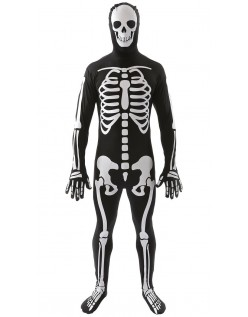 Halloween Voksen Skjelett Kostyme Mann