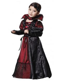 Jente Halloween Vampyr Kostyme Festkjole Barn