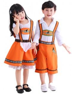 Tyske Land Gutter Oktoberfest Lederhosen Kostyme
