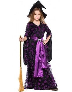Halloween Lilla Månen Heks Drakt Barn