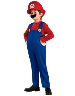 Deluxe Super Mario Bros Mario Kostyme Barn