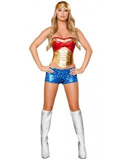 Wonder Woman Kostyme Superhelt Kostyme Heroine