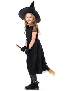 Forhekset Halloween Heks Kostyme For Barn