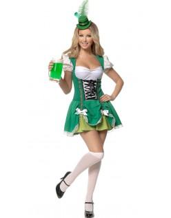 Grønn Sexy Tysk Oktoberfest Kostyme
