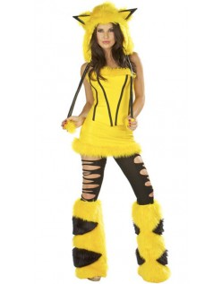 Pikachu Kostyme Halloween Dyrekostymer