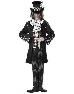 Mørk Mad Hatter Kostyme Herre