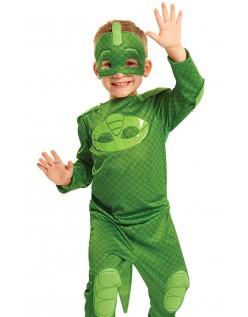 Pysjheltene Kostyme PJ Masks Gekko Utkledningsklær Barn