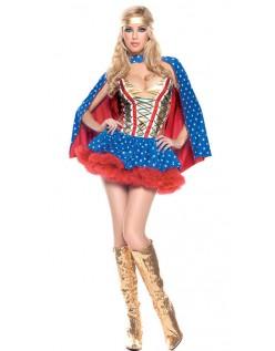 Sexy Helten Jente Wonder Woman Kostyme