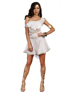 Hun Er Varm Gresk Gudinne Kostyme