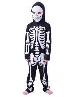 Halloween Skjelett Kostyme Barn