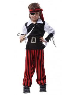 Cyclops Pirat Kapteinen Jack Halloween Kostyme Barn