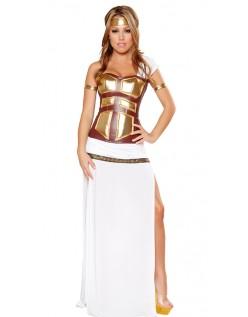 Deluxe Gresk Gudinne Kostyme