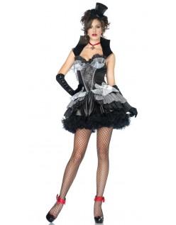 Mørke Halloween Vampyr Kostyme