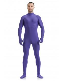 Morphsuit Lycra Spandex Drakt Second Skin Kostyme Mann Lilla
