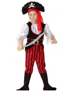 Halloween Viking Pirat Kostyme Gutt