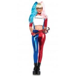 Skurk Klovne Harley Quinn Kostyme