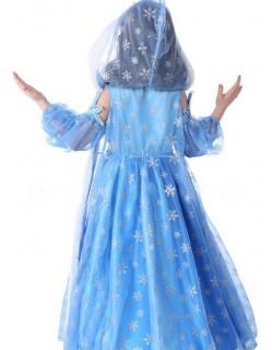 elsa kjole med kappe