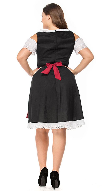 Bayersk Kostyme Store Oktoberfest Heidi Størrelser Kjole Dirndl rqgrxfa8